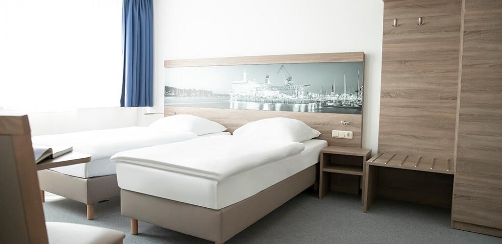 Gästehaus Rostock - Komfort Zweibettzimmer