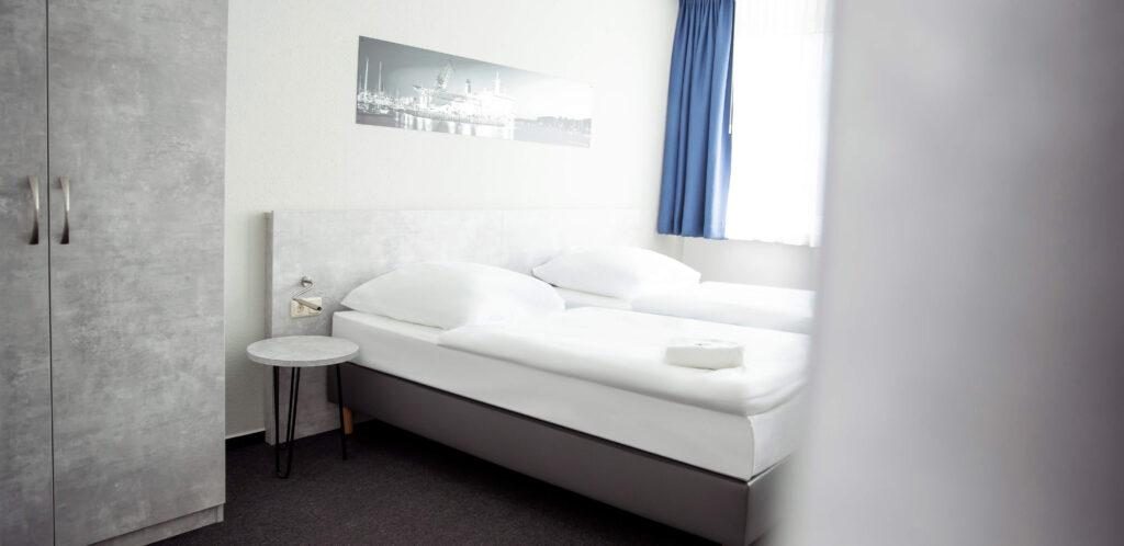 Gästehaus Rostock - Komfortzimmer mit Gemeinschaftsbad