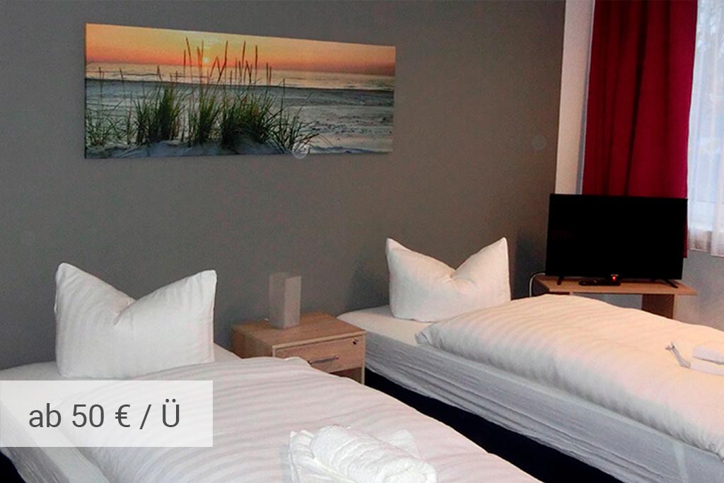Gästehaus Rostock - Standardzimmer Plus