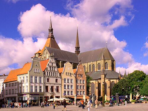 Gaestehaus Rostock - Umgebung Markt