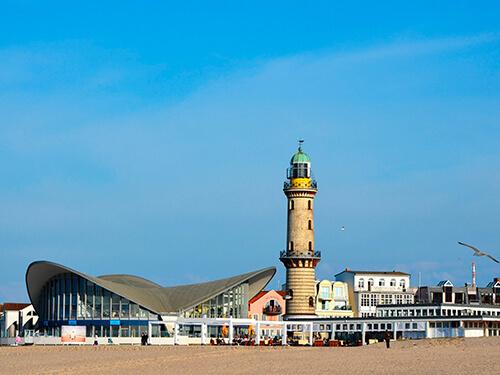 Gästehaus-Rostock - Rostock - Umgebung - Warnemünde - Leuchtturm